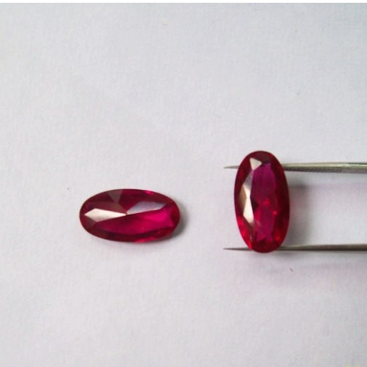 synthetic corundum ruby gems
